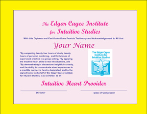 Vistors' Lobby to The Edgar Cayce Institute for Intuitive Studies